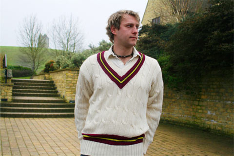 Rocford Sports knitwear Cricket sweater