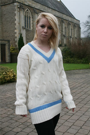 rochfords Cricket sweater